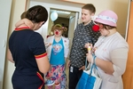 "Imperial Energy in joint effort with NCO ""Happiness partners"" arranged a small holiday for patients of Tomsk Cardiology R&D Center. May 2015."