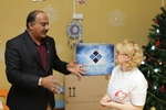 Visit of Mr. S. Durga Prasad, Chief Executive Officer (IE) to the Children's Charity Fund n.a. Alyona Petrova. December 2014.