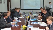 Visit of Mr. N.K. Verma, Managing Director, OVL, and Mr. P.K. Rao, Director (Operations), OVL, to Tomsk office of Imperial Energy. December 2014.